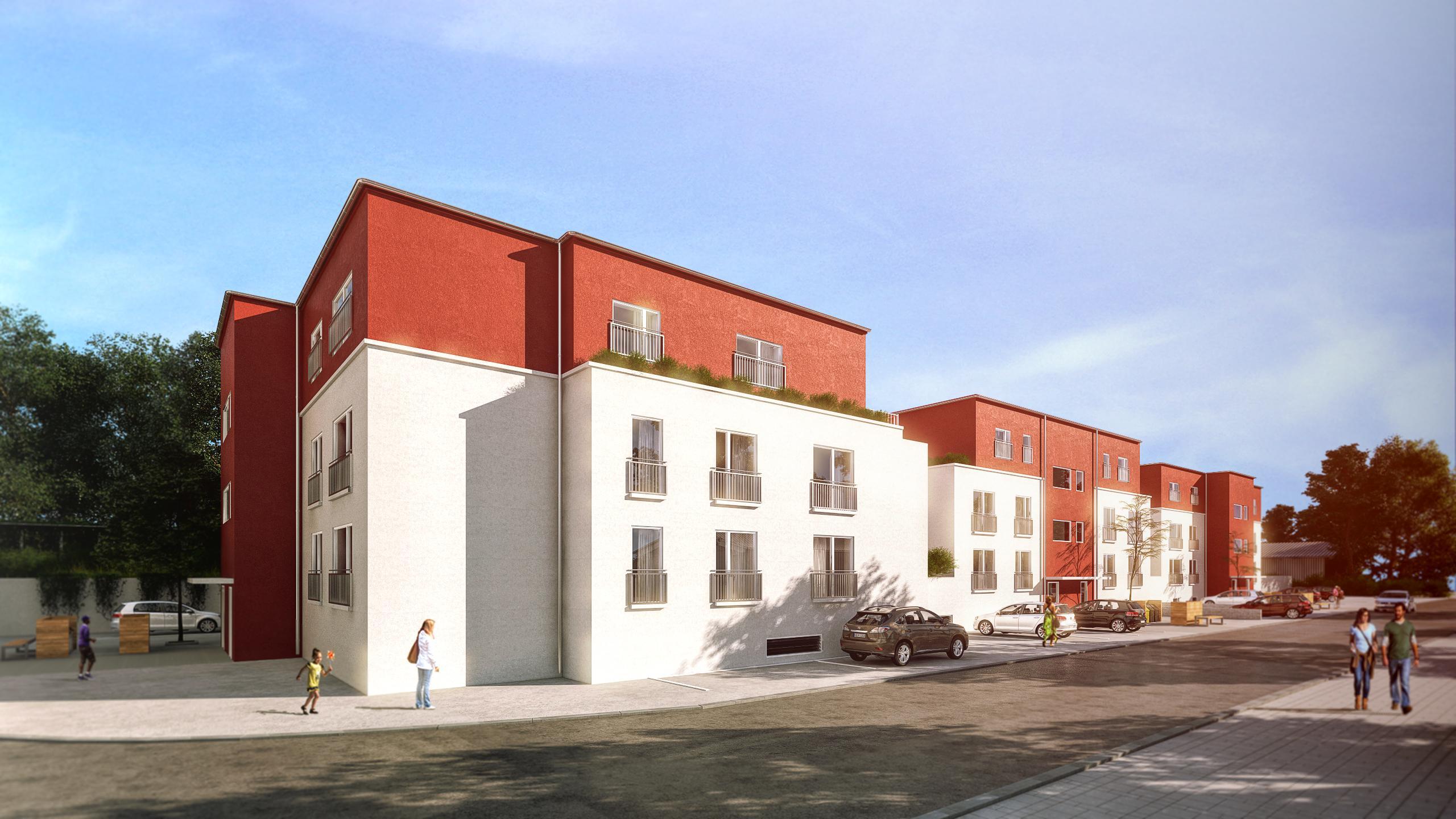 3D Rendering für Kunden LBS Immobilien GmbH