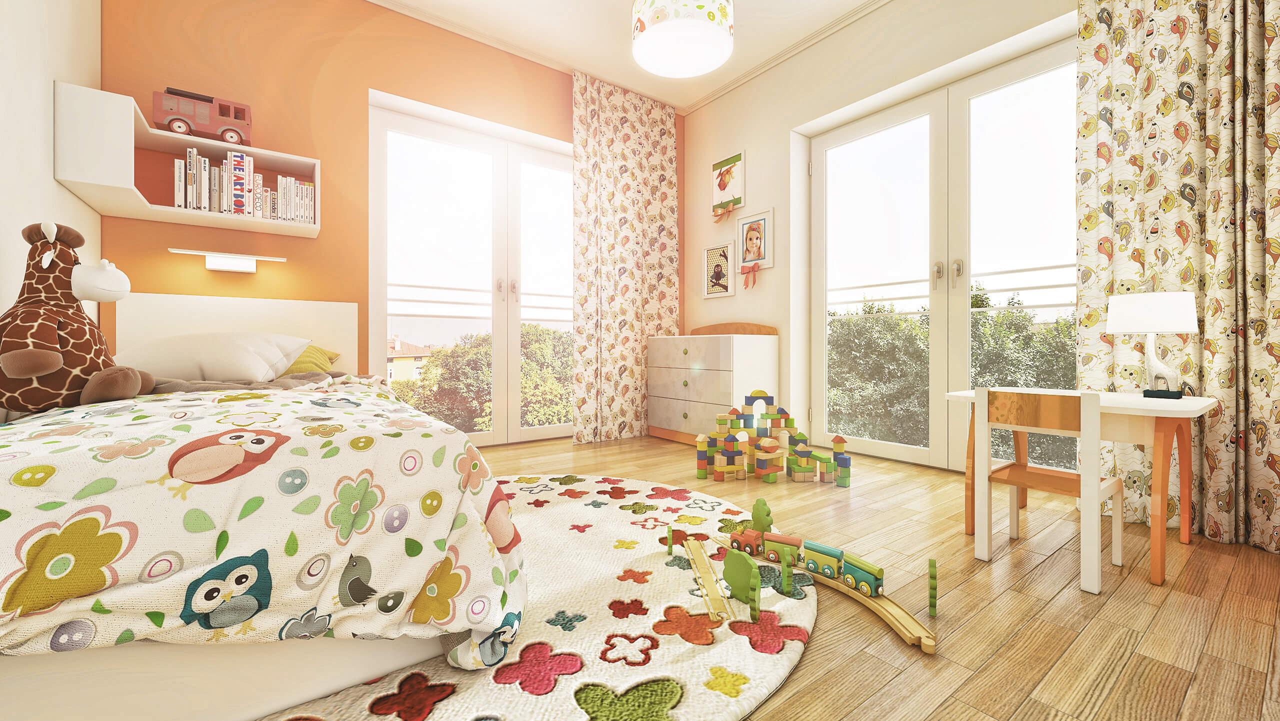 Innenvisualisierung Kinderzimmer
