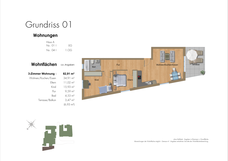 2.5D Grundriss Exposee