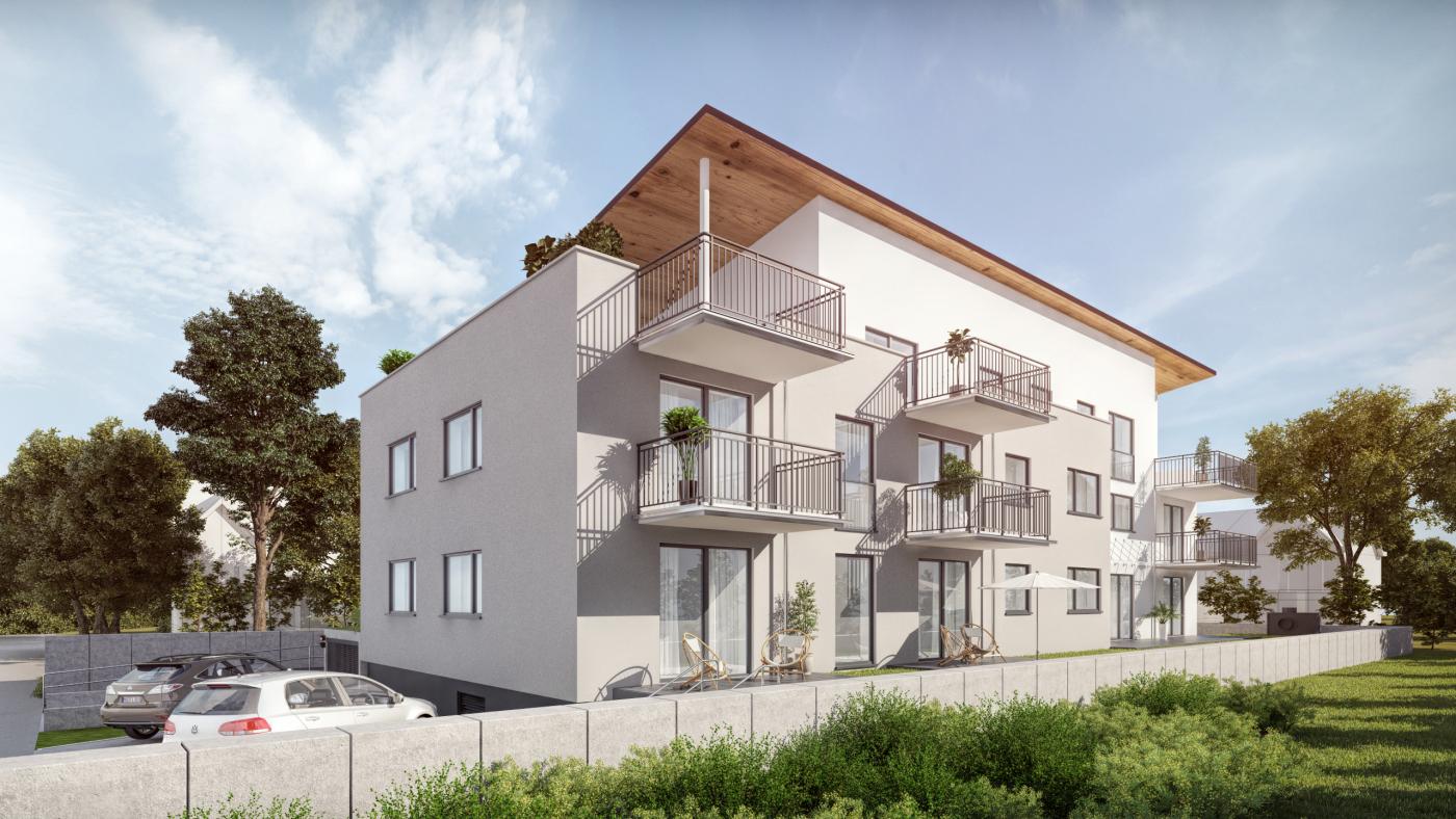 Architekturvisualisierung BV MFH in HOFHEIM LANGENHAIN